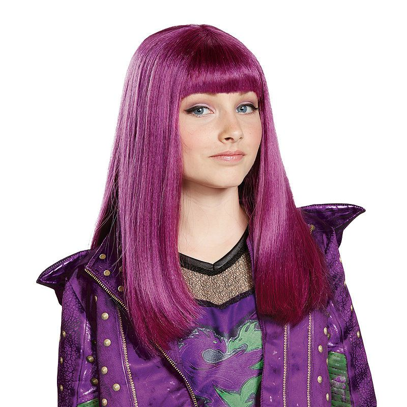 Mal Costume Wig Child Isle of The Lost Look Disney Descendants 2 23790