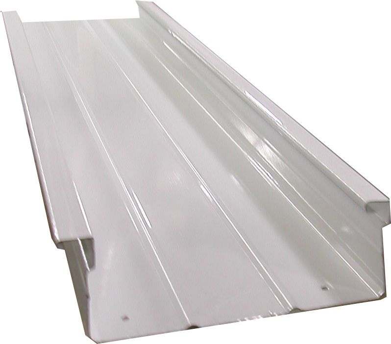 Aluminum Pan Roof Difference In Pan Gutter For Florida