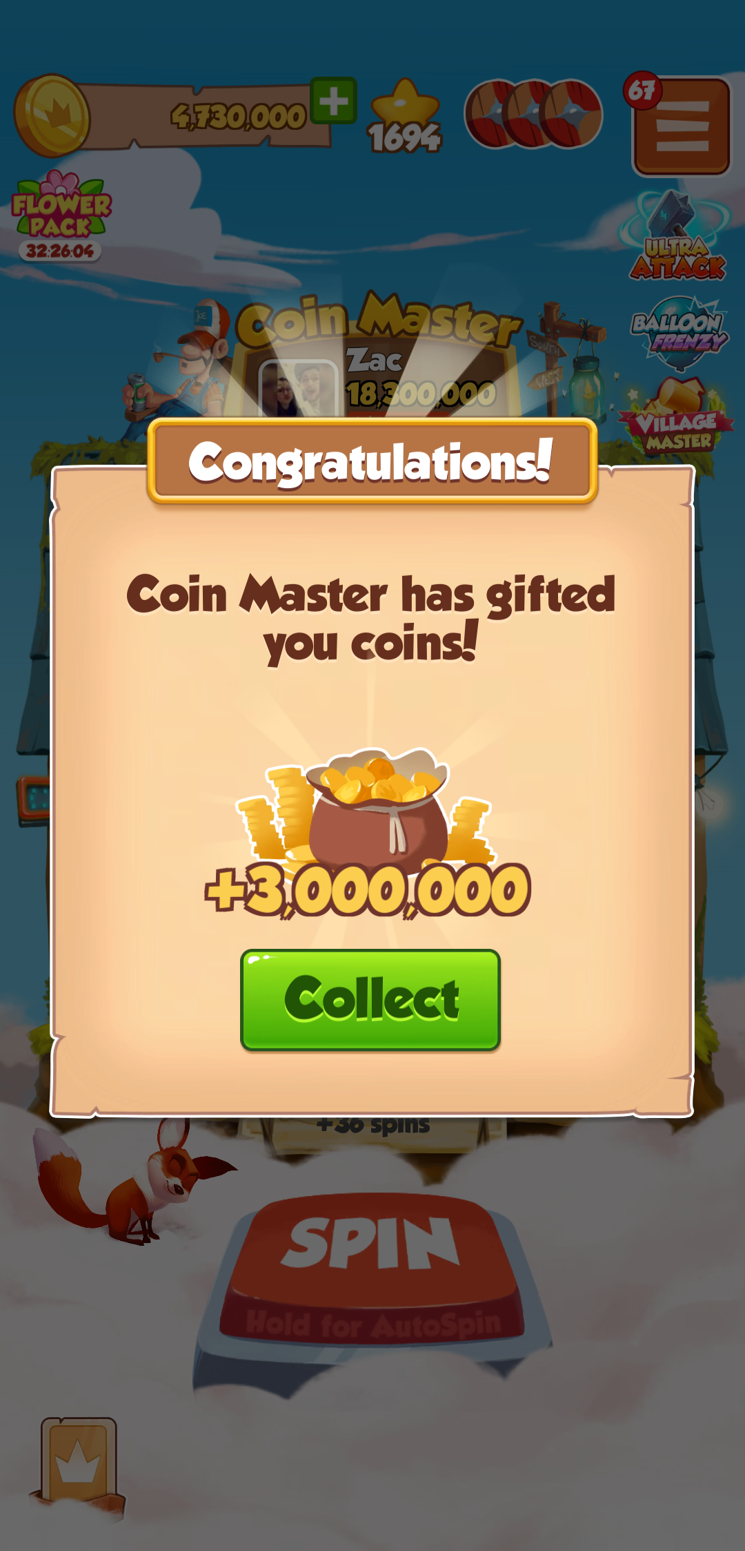coin master free coins and spins 2020