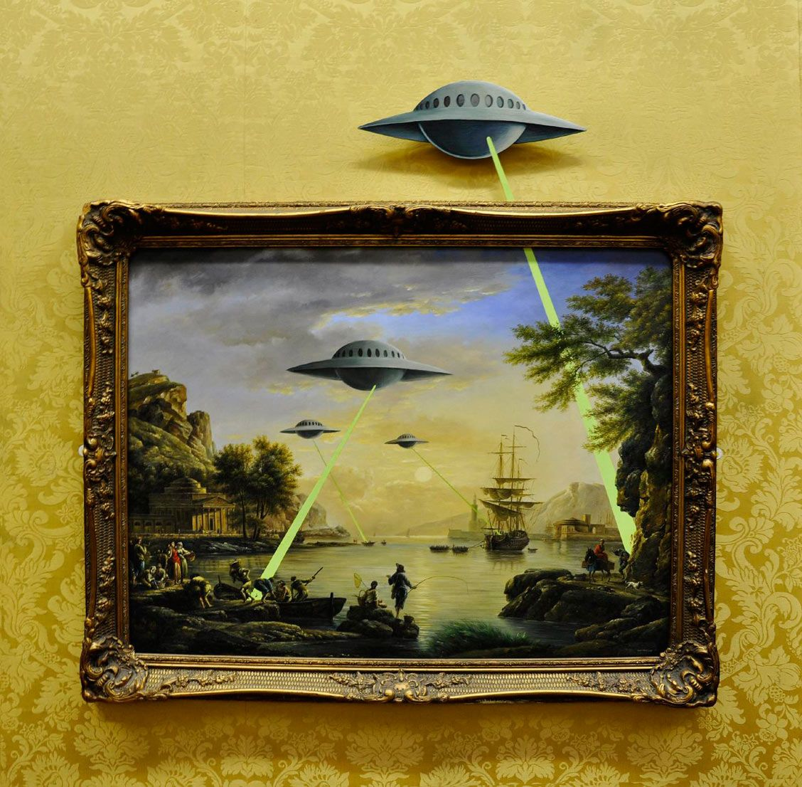 Nonconformist — banksyarts: Alien Invasion Banksy [src] | Art ...