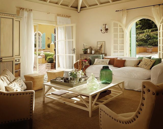 New Home Interior Design Country House Cottage Style Living Room Country House Interior Country Cottage Living Room