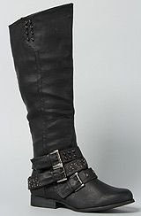 *Sole Boutique The Big Ben Boot in Black