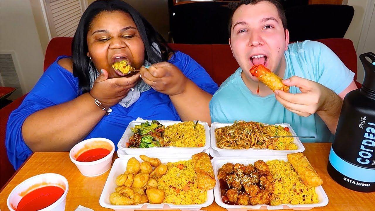 Chinese food takeout mukbang chinese food take out