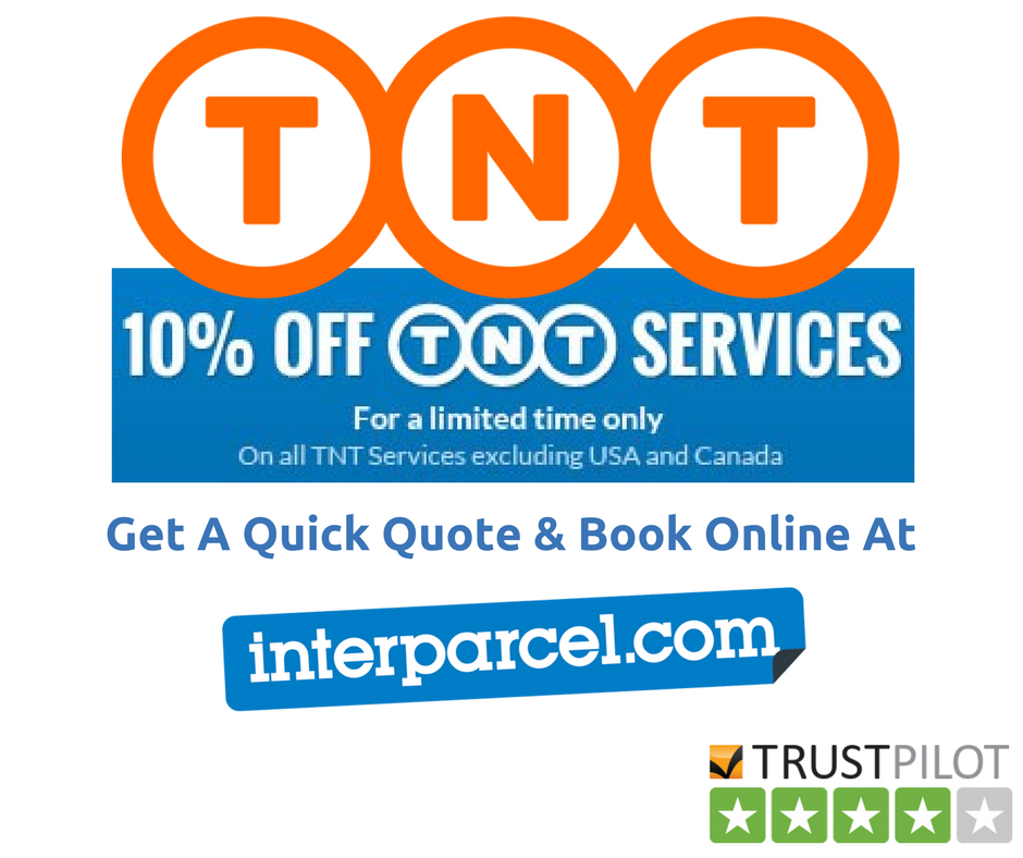 10% Off TNT #parcel Courier Delivery