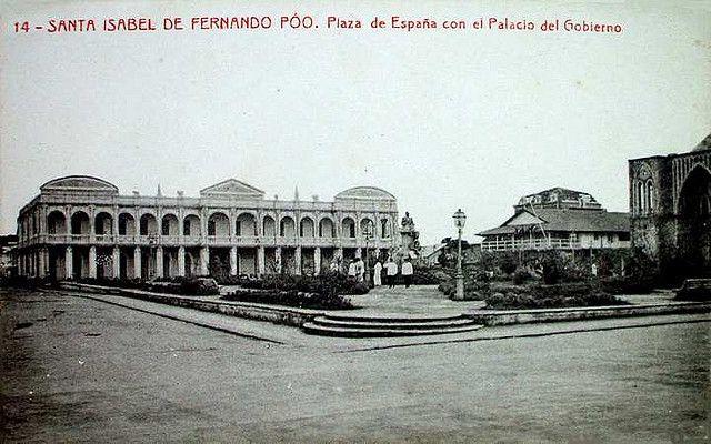 Santa Isabel De Fernando Poo Plaza De Espana Santa Isabel France City