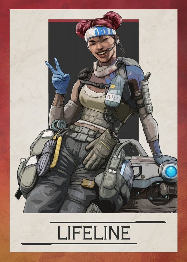 Apex Legends Border Characters Displate Posters
