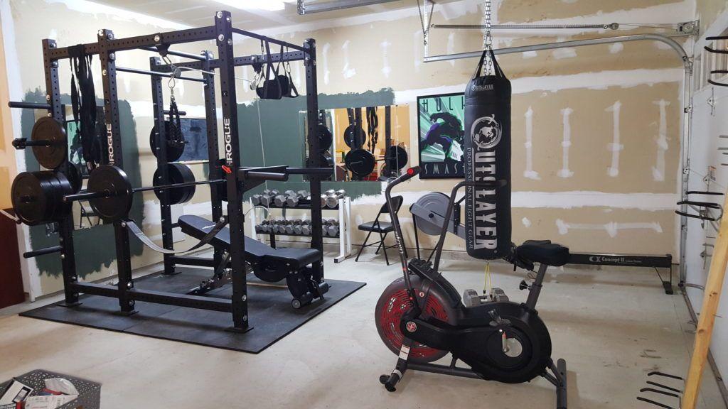 Budget home gym setup garage gym ideas home gym equipment