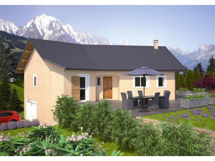 Modèle Primera Alpes : maison de plain-pied de 109m2. 3 chambres ...