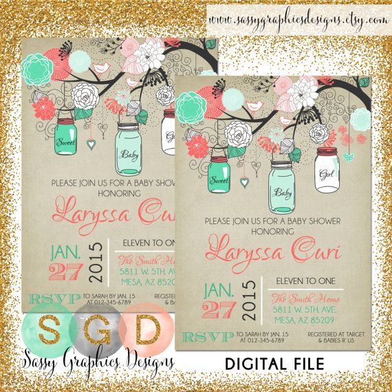 Hey, I found this really awesome Etsy listing at https://www.etsy.com/listing/164057937/mason-jars-baby-shower-invitation-baby