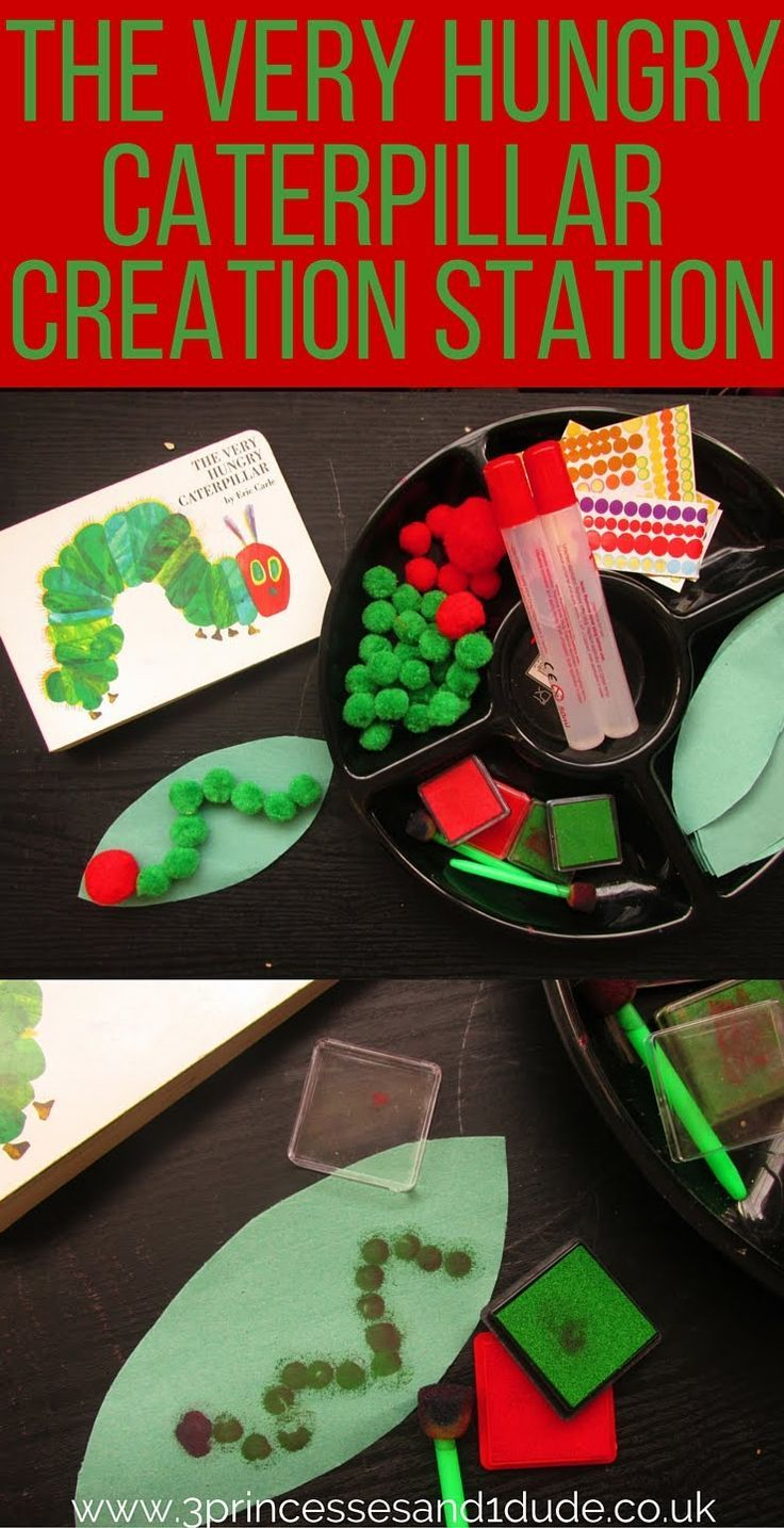 Activity Time. The Very Hungry Caterpillar Creation