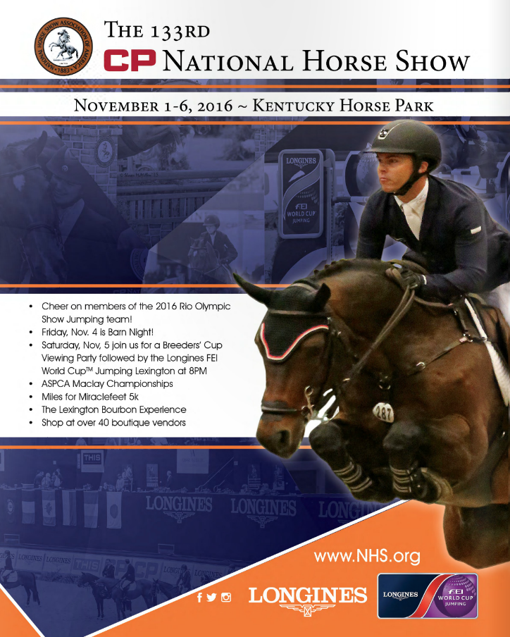 The 133rd CP National Horse Show