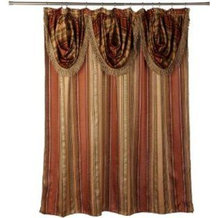 Shower Curtain With Attached Valance From Sears With Images