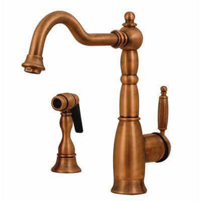 Whitehaus Collection 3-3185 Essexhaus Single Handle Kitchen Faucet ...
