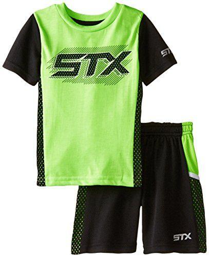 STX Boys 2 Piece Performance T-Shirt and Short Set