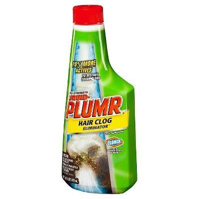 Liquid Plumr Pro Strength Clog Remover Hair Clog Eliminator 16 Oz