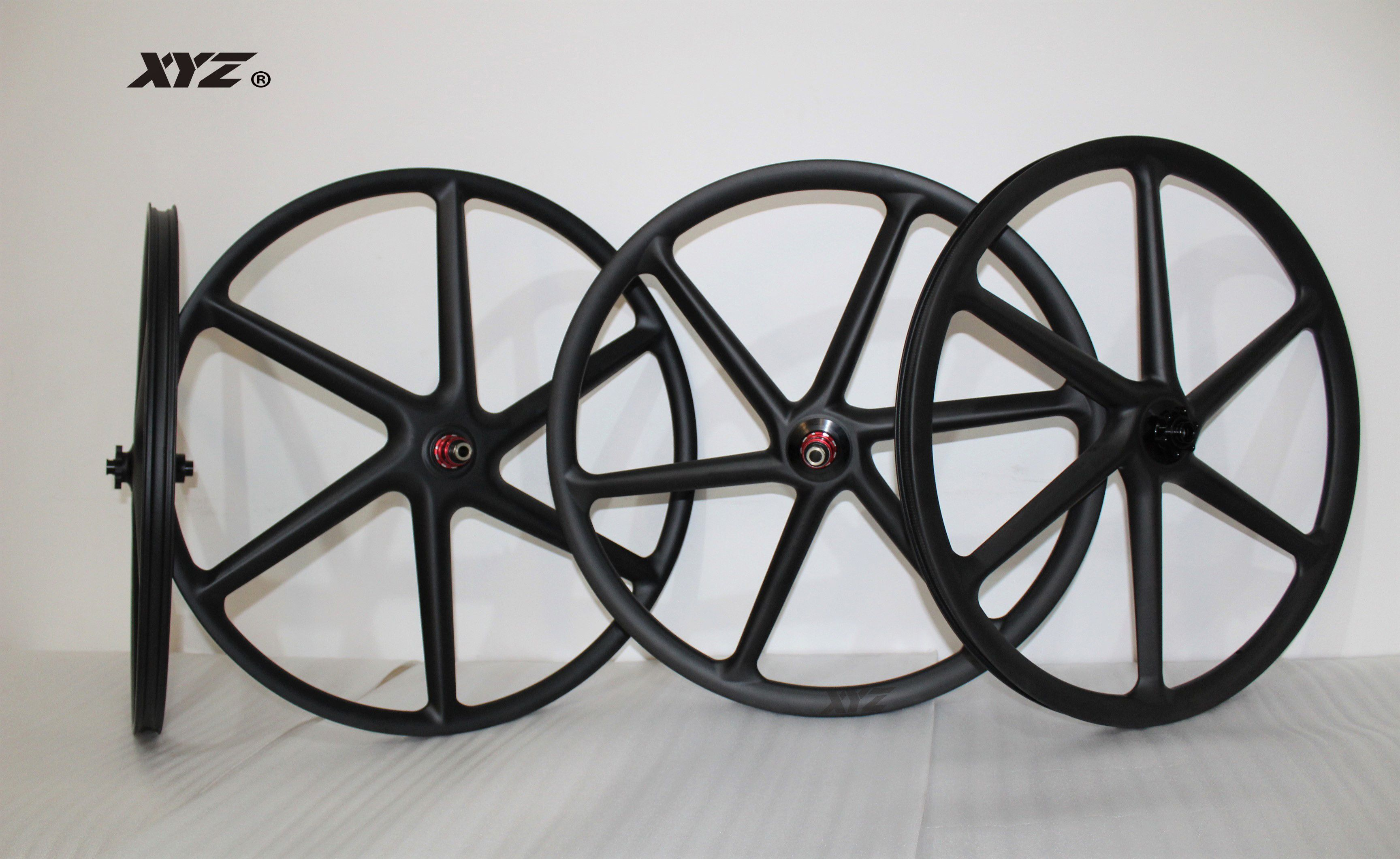 2018 Popular Mountain Bike 6 Spoke Carbon Wheel 26er 27 5 29
