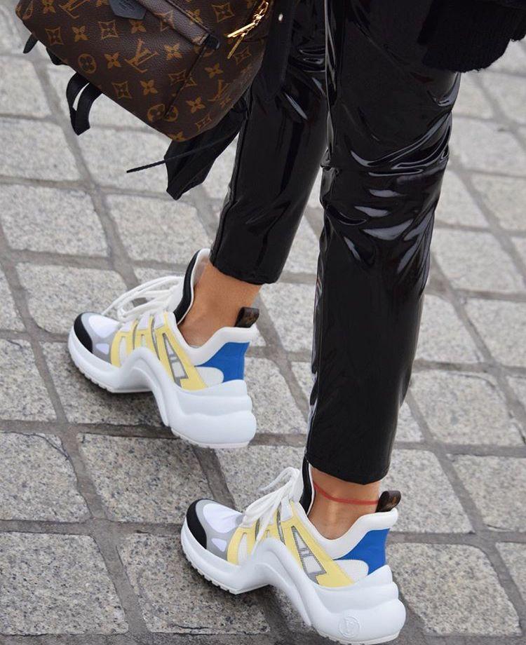 08ce15b380a8 pinterest   amirahlatanice Archlight LV Sneakers