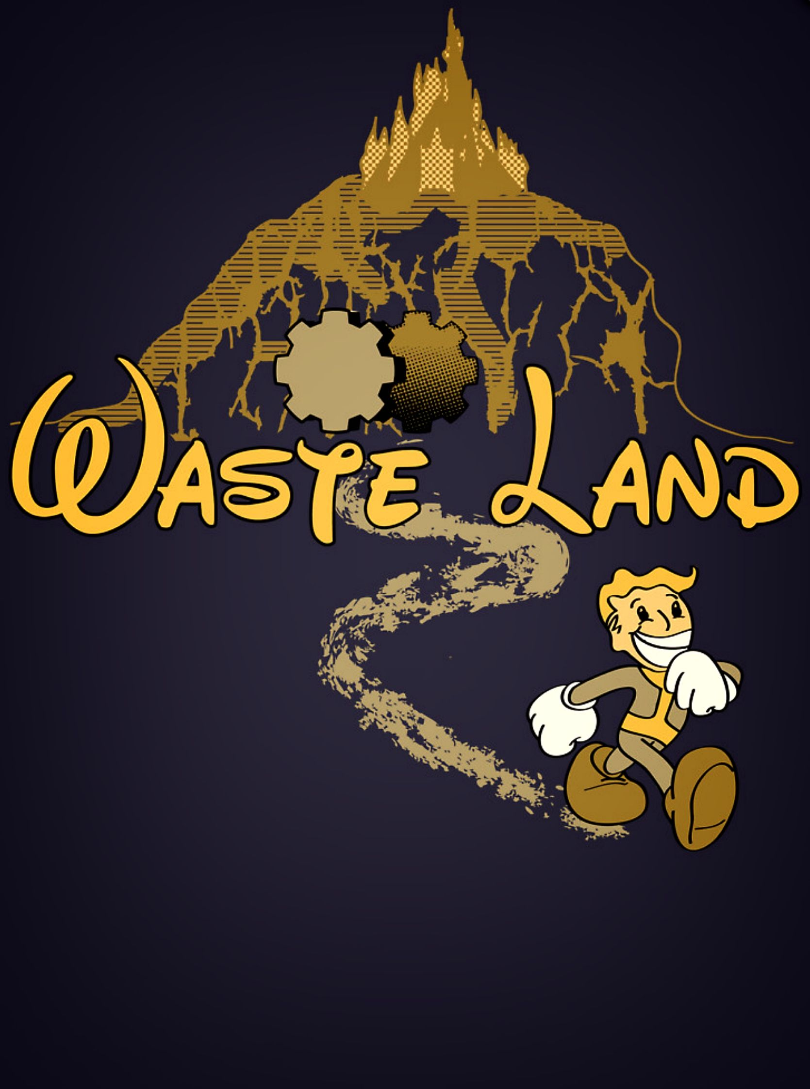 Vault Disney - #Fallout x #Disney