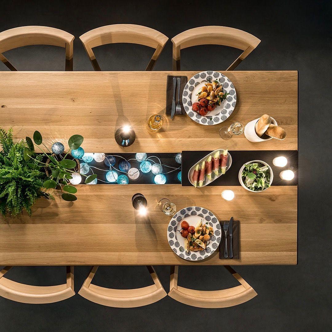 allonge Table en repas 2019Table FACTORY bois de avec stdQhr