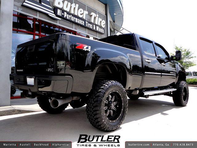 Gmc Denali 2500 Hd With 20in Gear 725 Wheels And 6in Pro Comp Lift Diesel Trucks Diesel Trucks Duramax Trucks