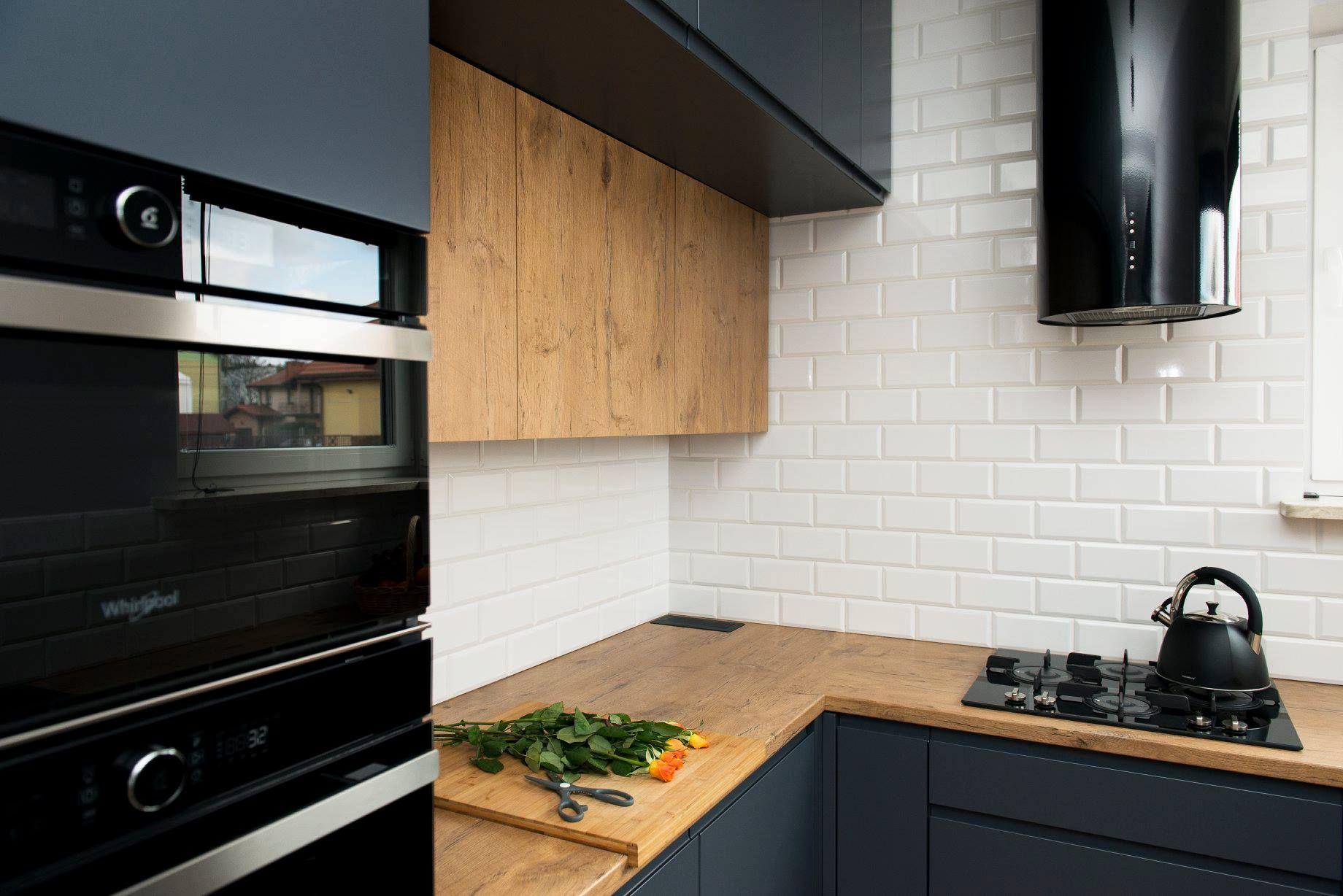 Okap Kominowy Cylindro Or Black Nortberg In 2021 Kitchen Design Kitchen Design Small Modern Kitchen