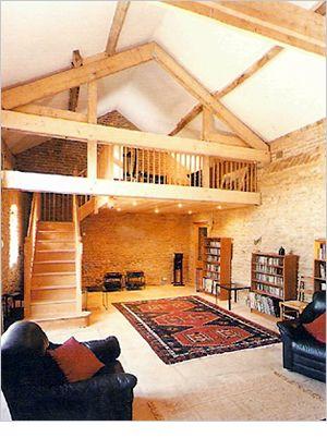 Loft idea with stairs | Barn loft, Dream house, Building a ...