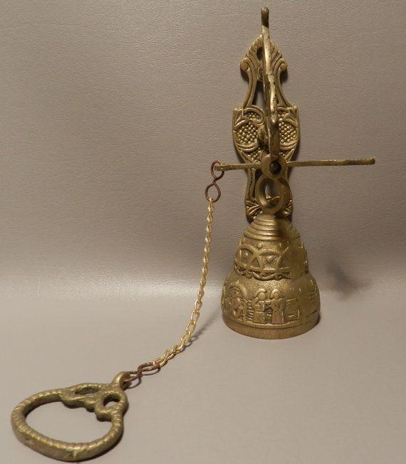 Cool door bell & Cool door bell | Vintage Brass Bells | Pinterest | Doors Door ...