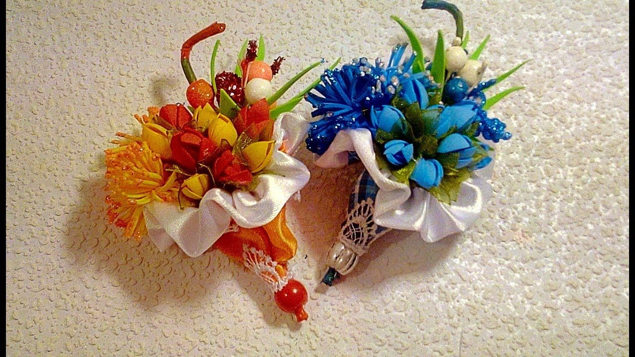 Вязание цветов и листьев своими руками крючком