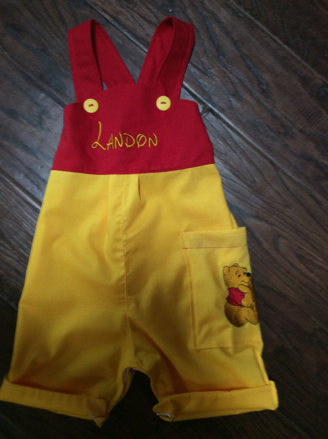 Winnie The Pooh Birthday Outfit Boys 1st Birthday outfit by