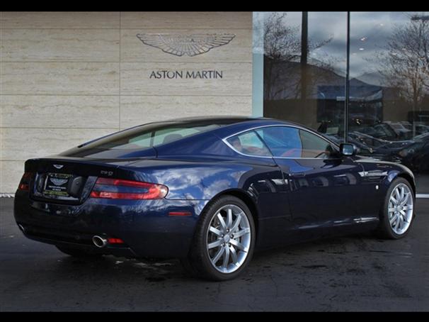 Aston Martin Db9 Coupe Midnight Blue Aston Martin Aston Aston