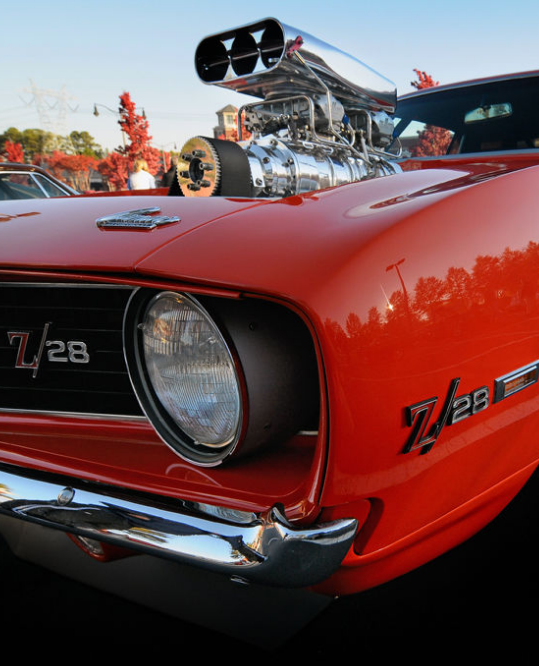 This custom 69 Camaro in clementine orange is to die for! #MusclecarMonday! Check it out...