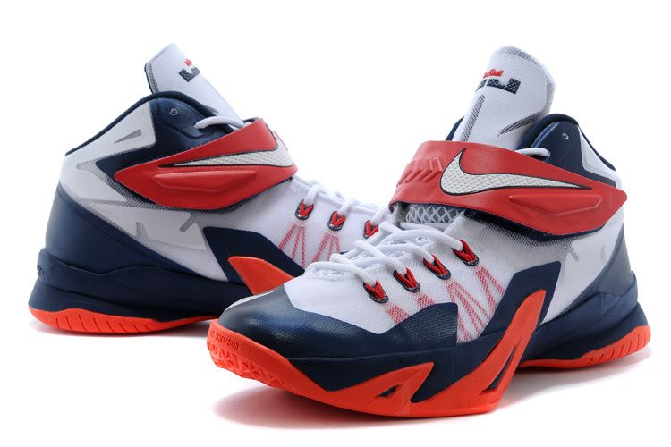Blue Nike, Shoes 2015, Red White Blue, Nike Zoom, Basketball Shoes,  Soldiers, Star, Air Jordan Shoes, Deep Blue