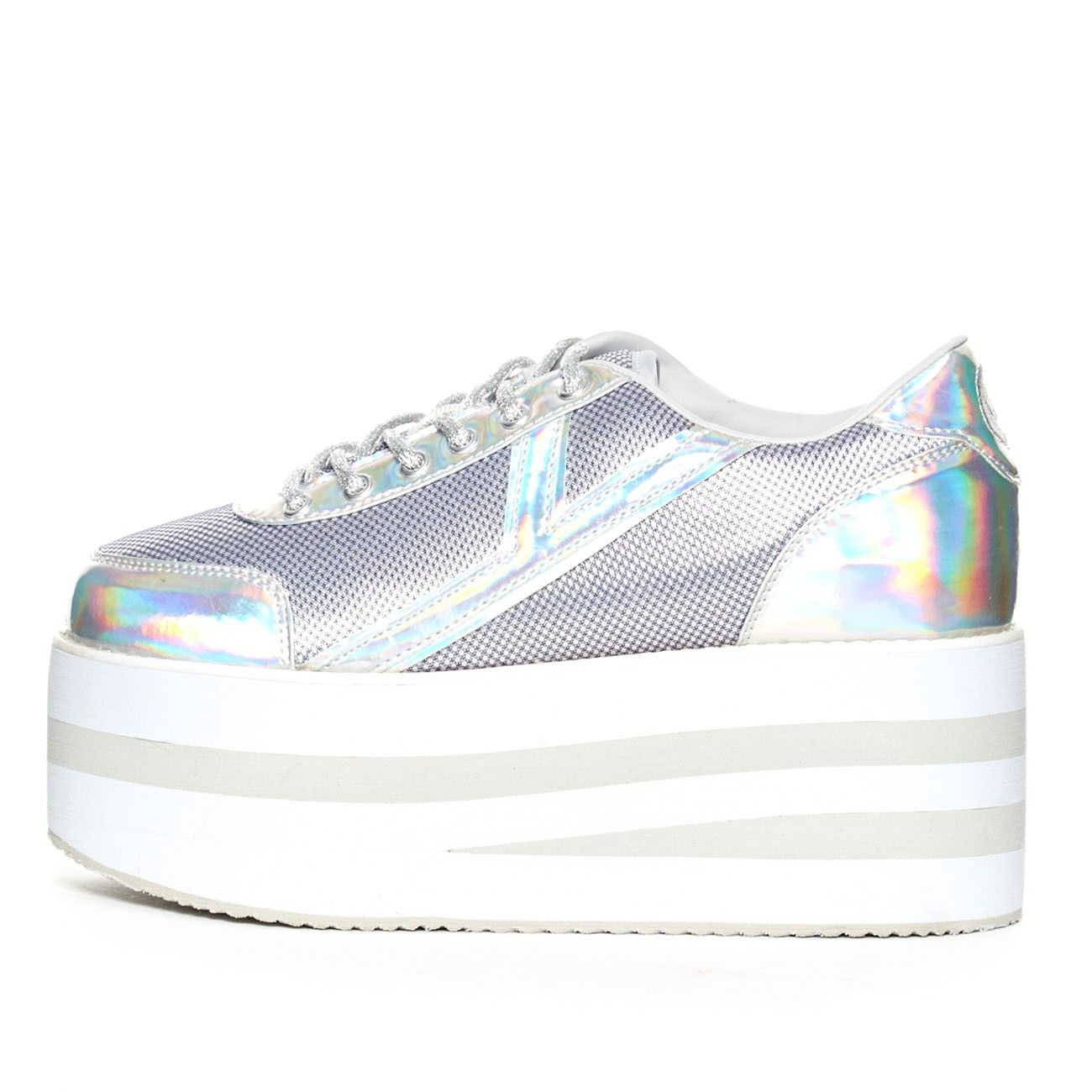 Sparkling Jellies Rainbow Sea Creatures Women's Casual Sneakers Shoes Canvas Sports New Vegan