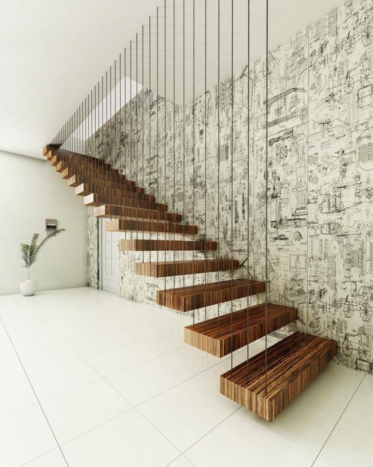 Perfekt #Interior Design Haus 2018 Moderne Treppe Aus Holz, Eisen Und Glas Für Den  Innenbereich