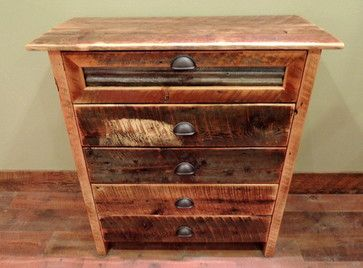 Barnwood Bedroom Furniture - rustic - dressers chests and bedroom armoires - other metro - Lonepine Lodgepole