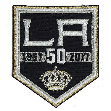 best sneakers 0bc45 8199f $12.95 - 2017 Nhl Los Angeles Kings 50Th Anniversary ...