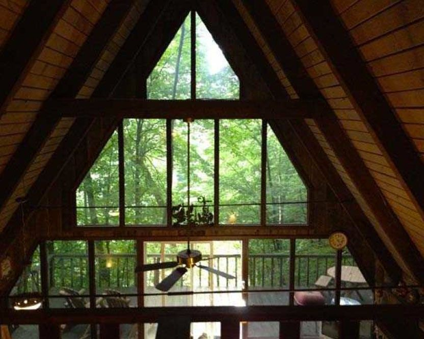 Wolf Laurel Vacation Rental   VRBO 476722   2 BR Blue Ridge Mountains Cabin  In NC