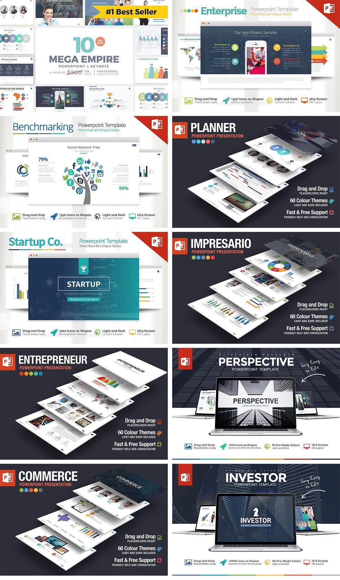 IMPERIO Powerpoint + Keynote + Google Slides Templates