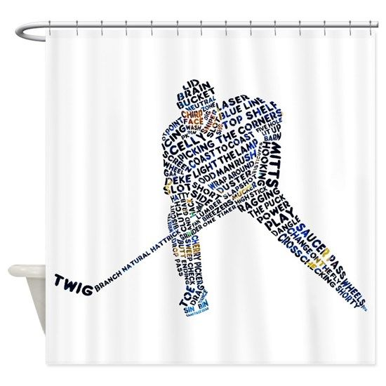 Hockey Player Typography On Cafepress Com In 2020