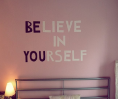 be you! Would be very cute for a teenage girl's room!