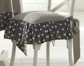 Housse de chaise becquet a la campagne pinterest for Coudre housse chaise