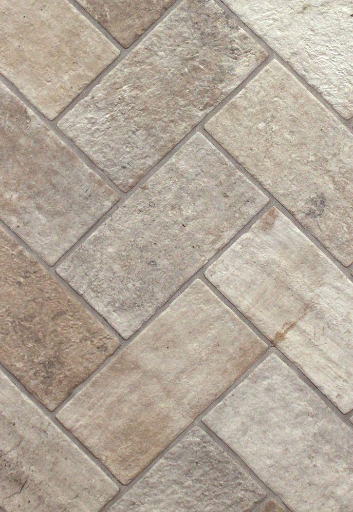 London Brick Fog 5 X 10 Porcelain Floor Tile Flooring