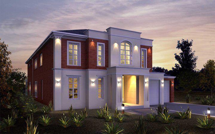 Metricon home designs the imperial provincial facade for Home designs victoria