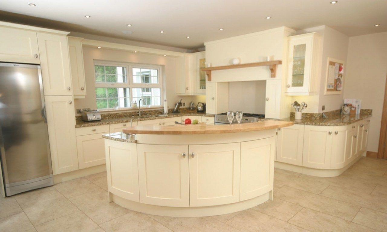 Image Of Cream Kitchen Cabinets Design Ideas   Home design, Design ...