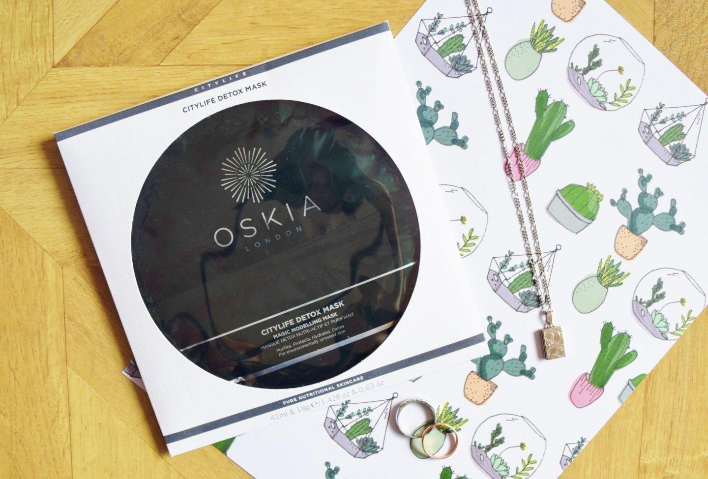 FACE MASK FRIDAY: OSKIA CITYLIFE DETOX MASK