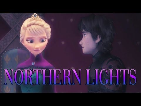 Elsa (+Hiccup) — Northern Lights【FOR LIV♥】 - YouTube