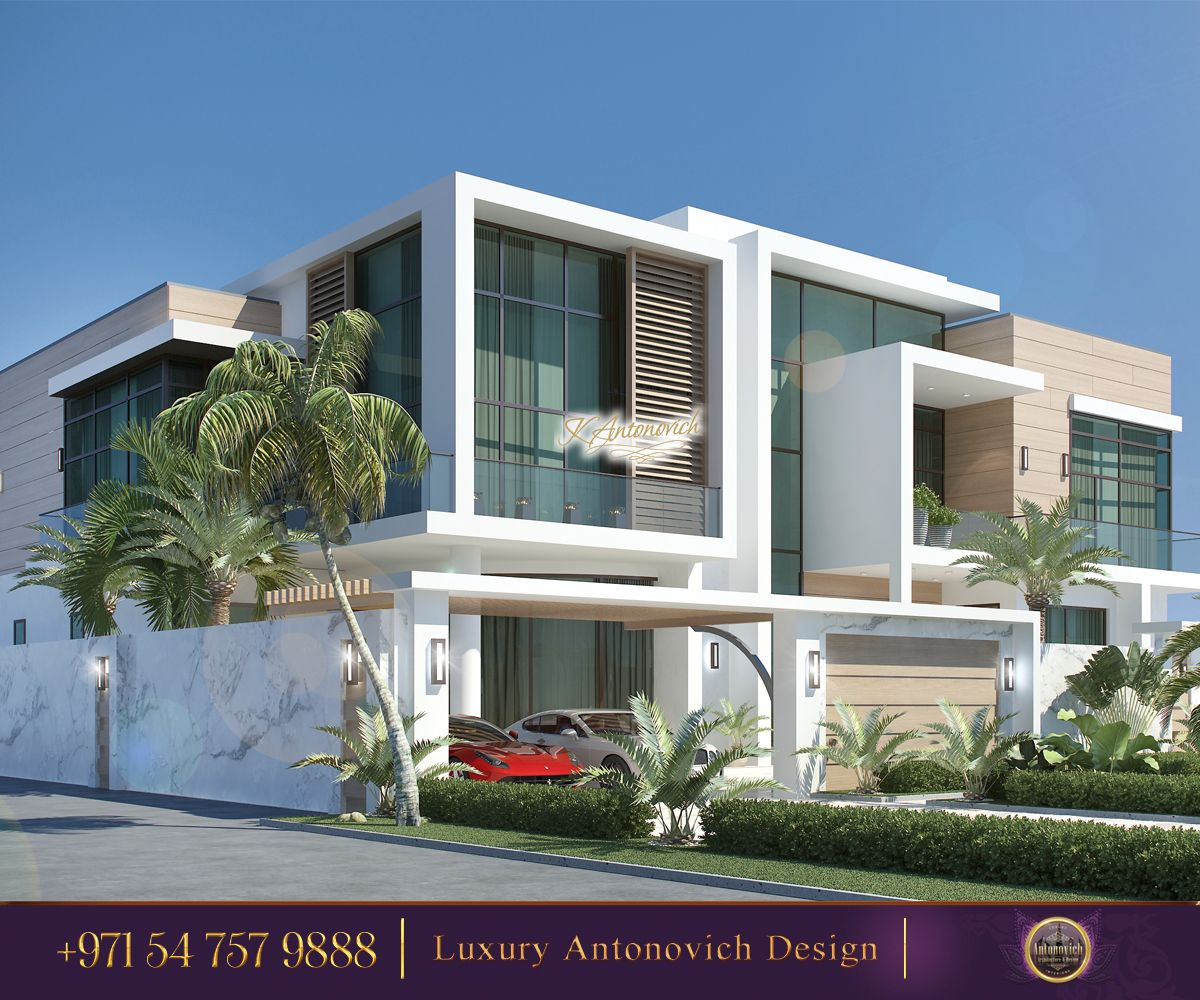 Stylish Home With Modern Exterior Design Incredibly Beautiful We Provide Full Implementation O Exterior Design Exterior House Colors House Design