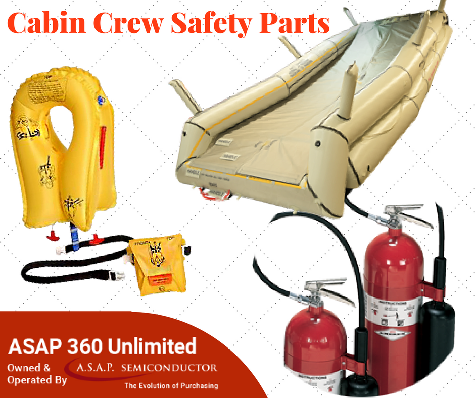 Find Genuine Aircraft Safety Equipment like life vests