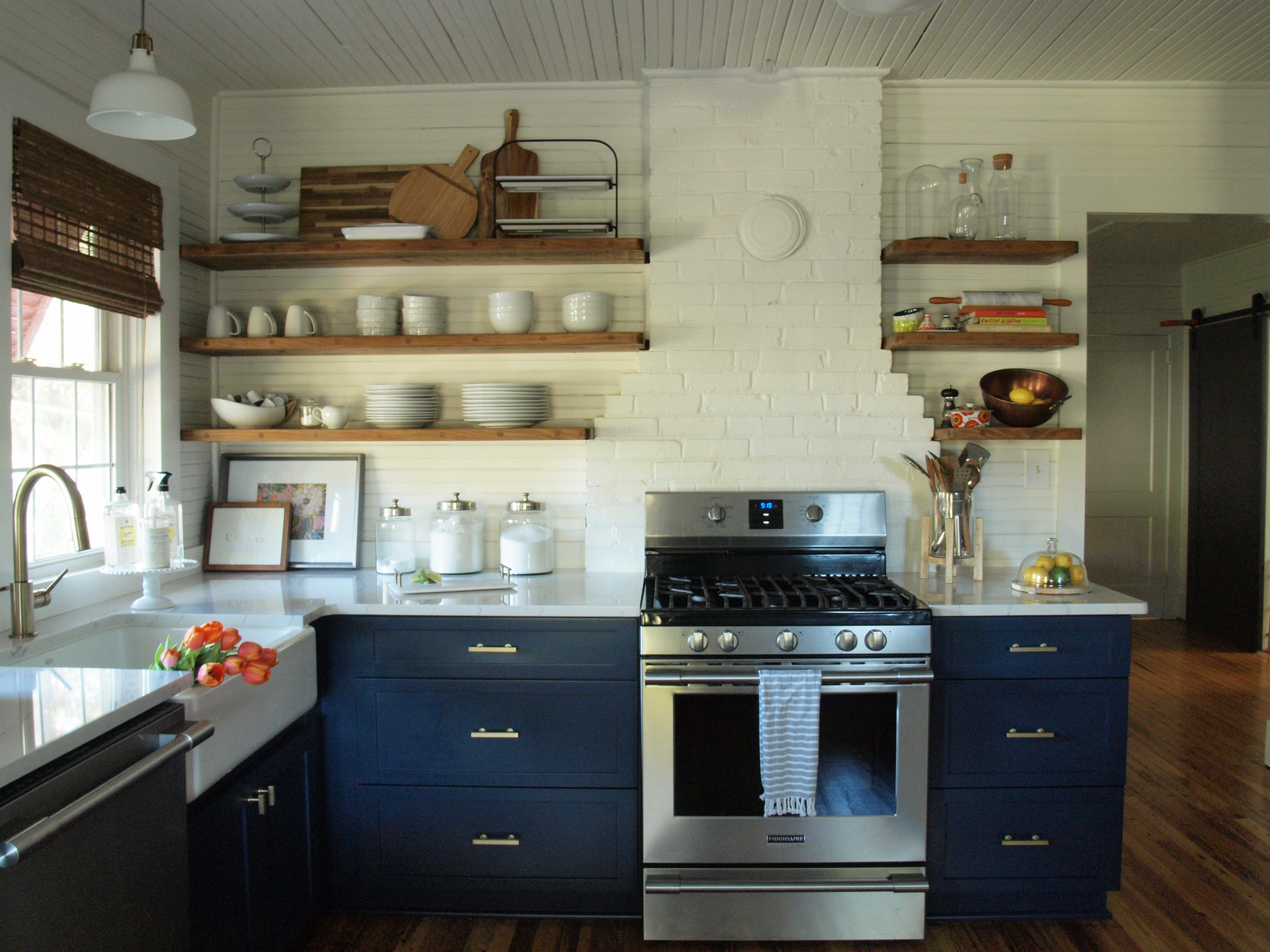 The Big Reveal Kitchen Before and After Farmhouse