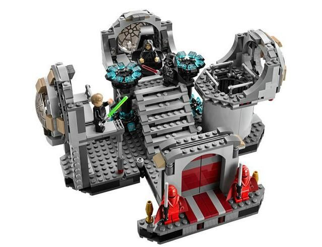 Star Wars Final Duel Building Set (723 Pieces): Price: $34.99 & FREE ...